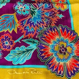 OSCAR de la RENTA scarf with fringes